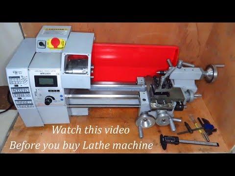 600W Mini Metal Lathe Machine