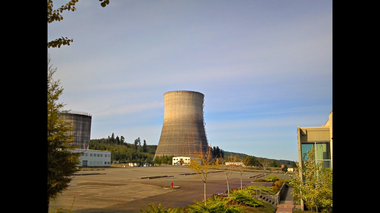 Climbing A Nuclear Plant Cooling Tower HQ
