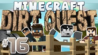 Minecraft - DirtQuest #16 - Goldust in a Cave (Yogscast Complete Mod Pack)
