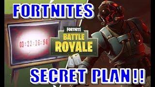 FORTNITE'S SECRET PLAN REVEALED!! OMEGA'S ROCKET TIME BOMB!!