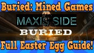 Black ops 2 Buried Easter Egg (Mined Games) Maxis