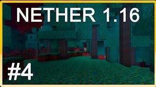 NETHER 1.16! MI PRIMERA SERIE DE MINECRAFT #4