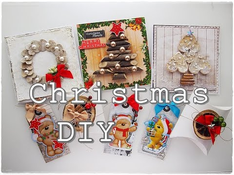 Easy DIY Budget Christmas Cards & Tags