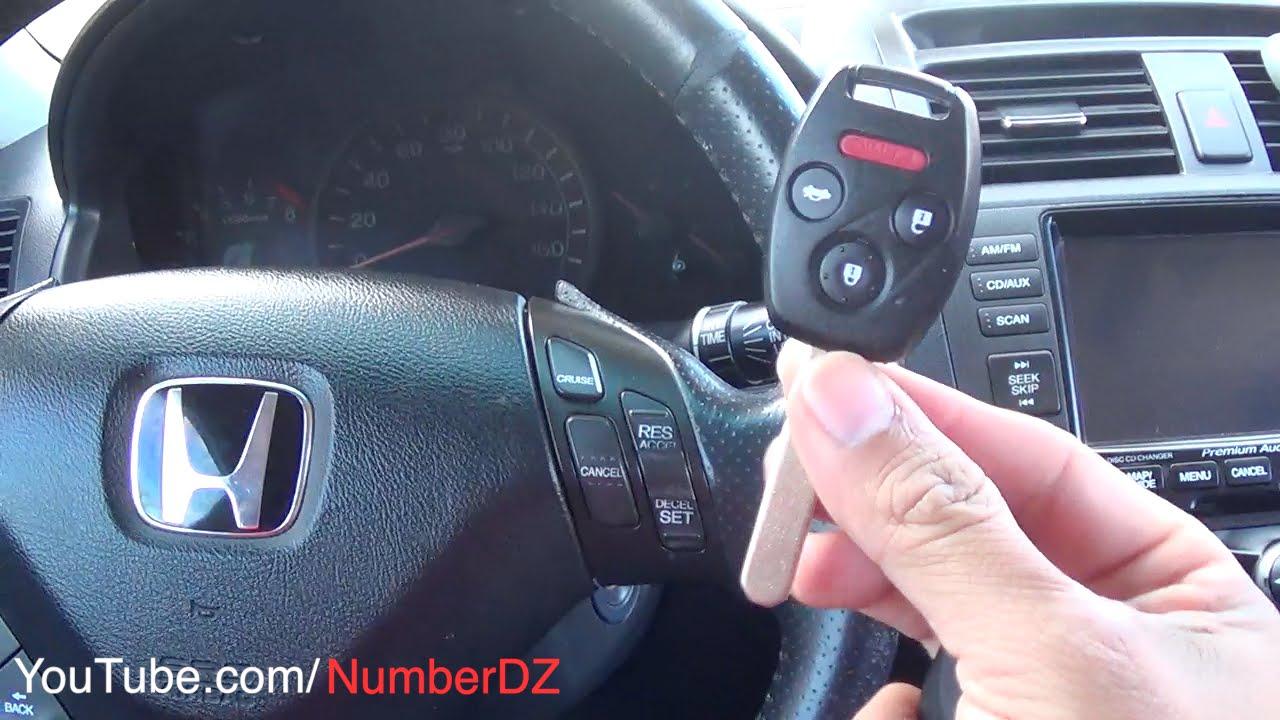 Como Programar Control Remoto Honda Accord Keyless Entry