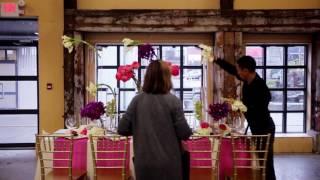Perfect Wedding Magazine's West Van Florist 'POP ART' BTS HD