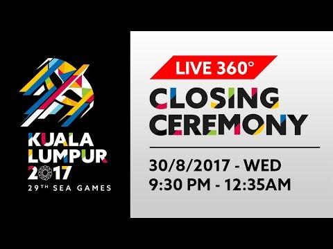 🔴 KL2017 LIVE | Closing Ceremony 360°
