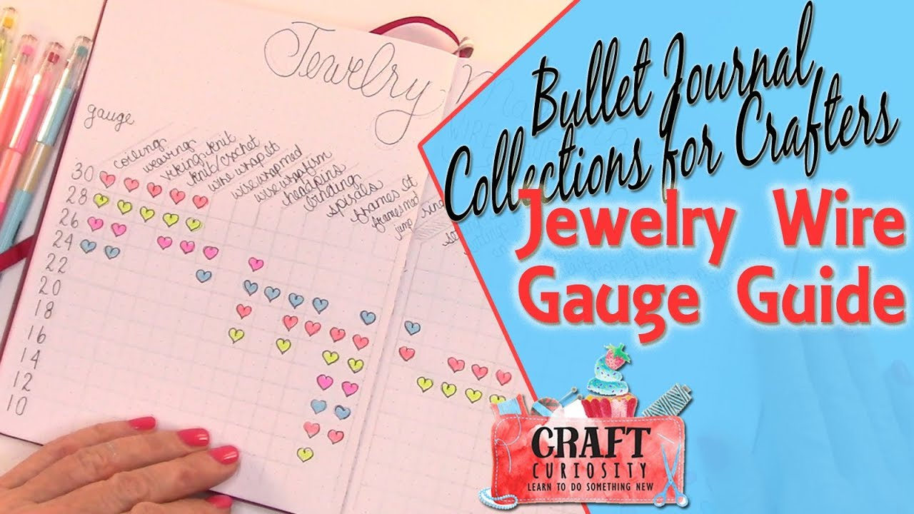 Bullet journal collections for crafters jewelry wire gauge guide bullet journal collections for crafters jewelry wire gauge guide keyboard keysfo Image collections