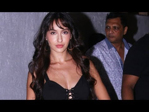 Nora Fatehi Hot Cleavage Show At The Event thumbnail