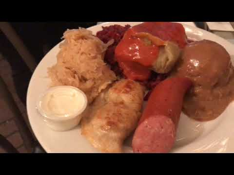 Michigan's Best Tries The Polish Plate At Polish Village Cafe