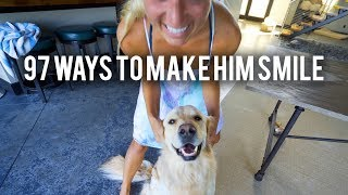 97 Ways to Make a Dog Smile (Super Cooper Sunday #163)