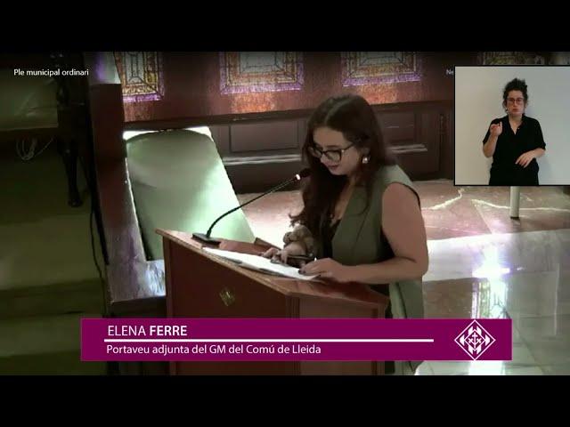 Es constitueix el comitè ètic de la Paeria que va impulsar l'Elena Ferre des de la regidoria