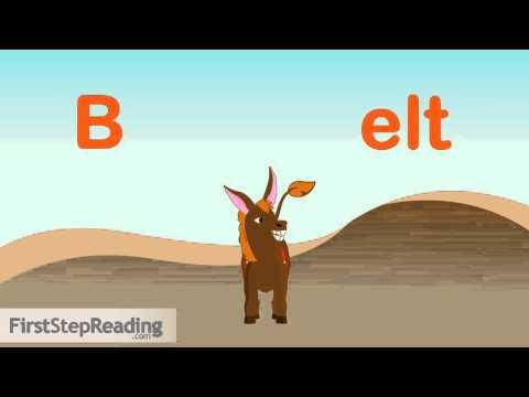 Beginning Readers Grammar Phonics Lesson, Ending Consonant Blends