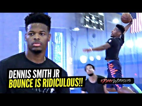 Dennis Smith Jr Goes CRAZY At ELITE NBA Open Run!! Jumps TOO DAMN HIGH! RemyRunsMiami