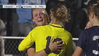 UNC Women's Soccer: Julia Ashley Scores Game-Winner to Send Heels to National Championship