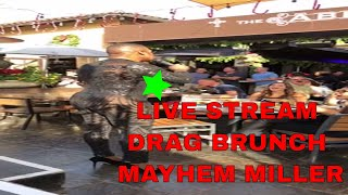 FUNNY CHRISTMAS DRAG QUEEN BRUNCH SHOW WITH FIERCE MAYHEM MILLER THE ABBEY WEHO DAILY VLOG