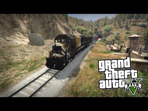 Koji je jedini način da zaustavite Voz u GTA 5 ??