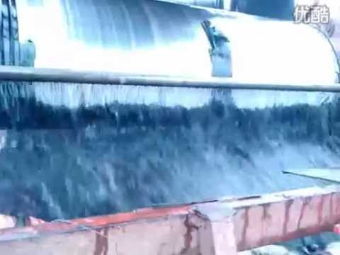 marine sand / Iron ore wet magnetic separator - YouTube