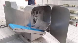 Peynir rende ve küp dilimleme makinesi
