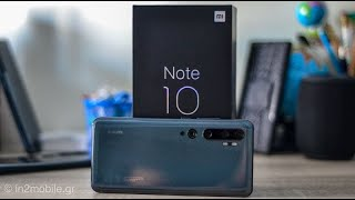 Xiaomi Mi Note 10 Unboxing : Το κορυφαίο Camera Smartphone [Greek]