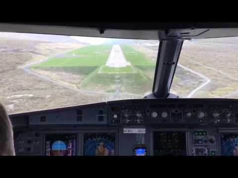 "A ""WHY I FLY"" film - An Amazing ride ""The Jumpseat "" Reykjavik to the Faroe Islands - Airbus 319"