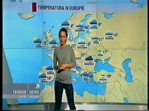 Polsat News - Reklamy i prognoza pogody z 14 kwietnia 2009