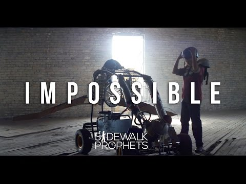 Sidewalk Prophets- Impossible (Official Music Video)