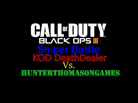 BO3 Sniper Battle, Hunter Vs. Derek (Call of Duty Black Ops 3 Multiplayer #12)