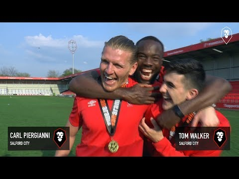 NATIONAL LEAGUE NORTH CHAMPIONS | Reaction from Carl Piergianni & Tom Walker