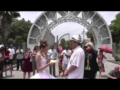 The Dude Performs Wedding in New Orleans