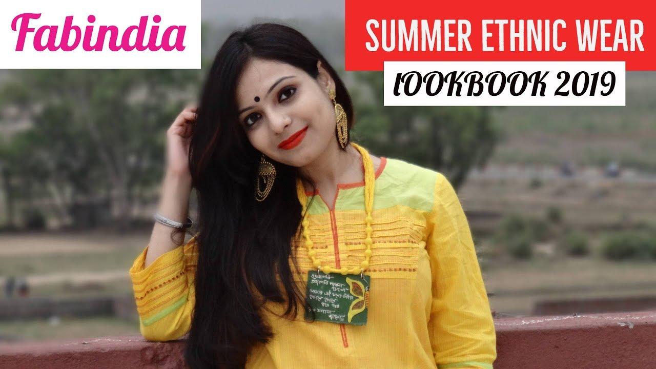 Summer Ethnic Wear Lookbook   fabindia lookbook 2019  Chirpy Tube 4