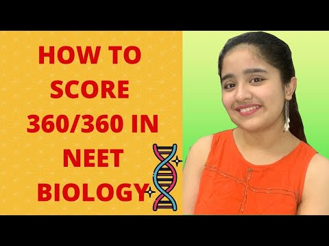 HOW DID I SCORE 360/360 IN NEET BIOLOGY || 700/720 IN NEET 2020 || Mitali Sharma