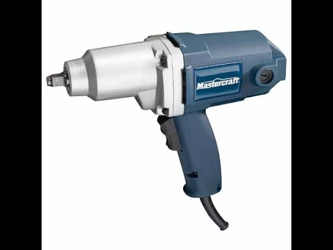 Mastercraft Impact Wrench Repair You