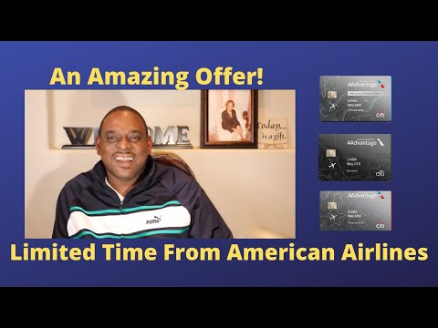 American Airlines Cards Sign-up Bonus - An Amazing Offer!