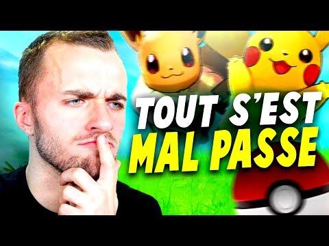 TOUT S'EST MAL PASSÉ... (Pokémon Let's Go)