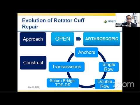Arthroscopic Transosseous Rotator Cuff Repair - Uma Srikumaran, MD
