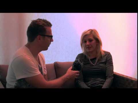 Music Talk with Ellie Goulding @ Zurich Openair 2013