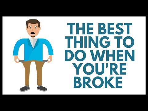 The BEST Thing to Do When You're Broke