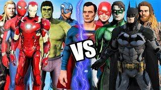 Justice League Vs The Avengers - Epic Battle