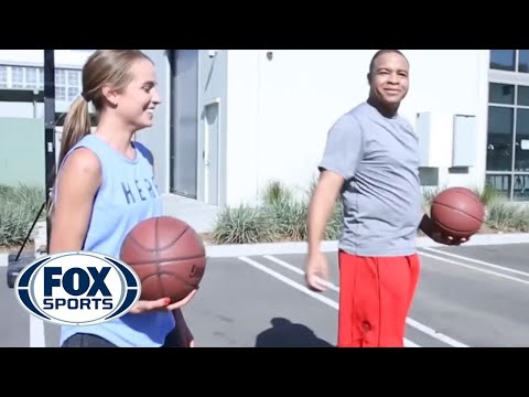 Mike Hill In Game Of HORSE Against Rachel DeMita (VideoFest)