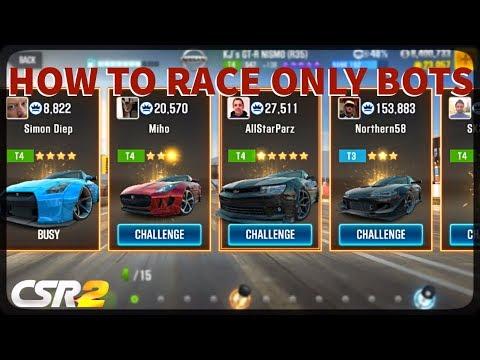CSR Racing 2 - How to race only bots - Дом 2 новости и слухи