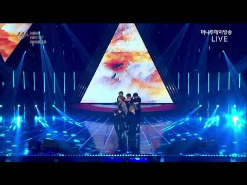 [161116] BTS – Blood Sweat & Tears, Fire (Live Asia Artist Awards)