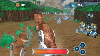 Lego Games 2017 | Lego Jurassic World Dinosaur Rampage | Game for Kids