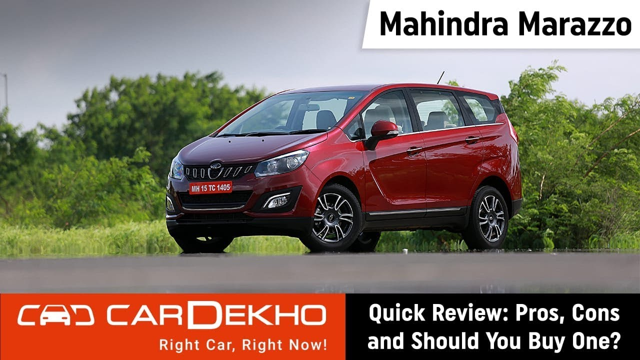 Mahindra Marazzo Quick Review Pros Cons And Should You Buy One