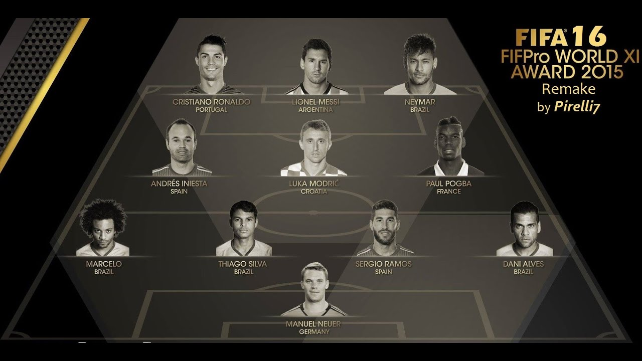 productions fifpro world xi - photo #37
