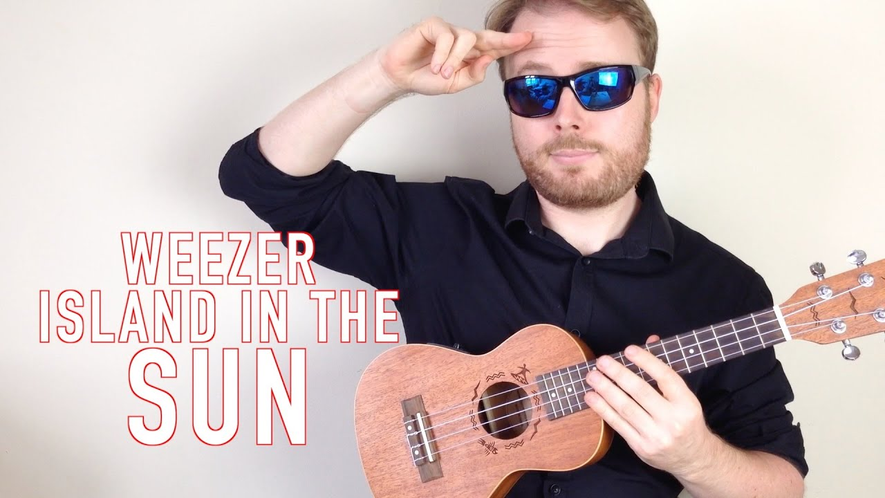 Island In the Sun - Weezer (Ukulele Tutorial song & guitar ...