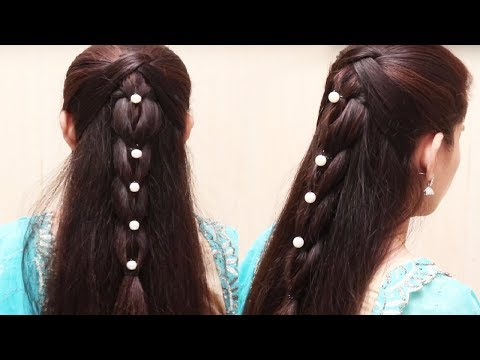 Easy Hair Style for Long Hair Tutorial