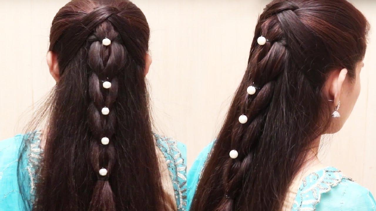 easy hair style long