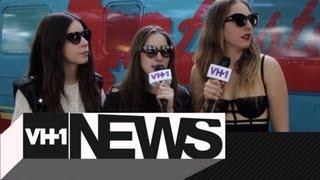 Haim Keeps It Weird At The Austin City Limits Music Festival + VH1 News + VH1