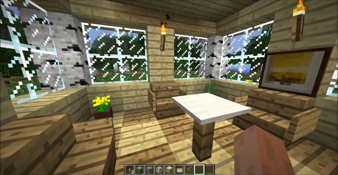 Minecraft birch house youtube