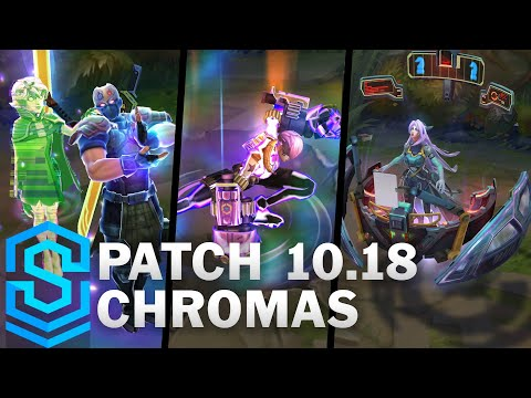 PsyOps Chromas | Patch 10.18 Chromas, Sona, Shen, Vi and Yi